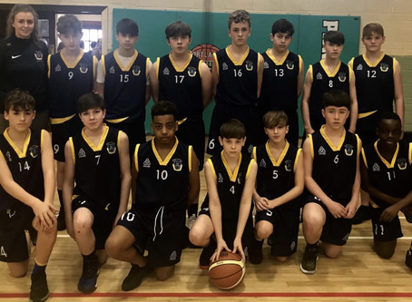 1st Year Basketball Progress to All-Ireland Semi-Final