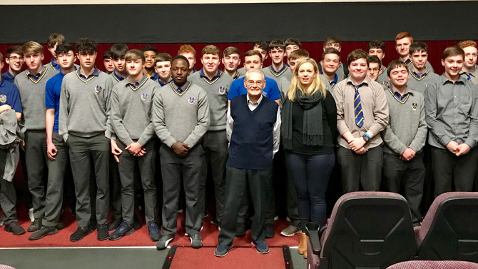 TY Students meet Holocaust Survivor Tomi Reichental