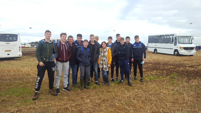 Ag Science Class at the Ploughing