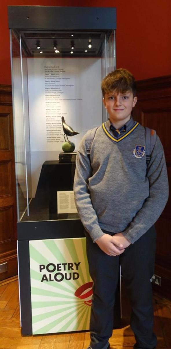 First Year Student Reaches National Final of Poetry Aloud