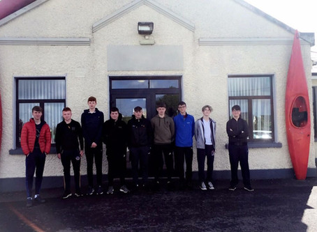 TY Students Get On their Walking Boots For Gaisce