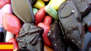 Negro o rojo, el caramelo de regaliz
