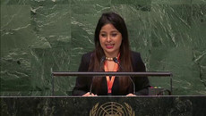 United Nations General Assembly-Sustainable Fish Farming