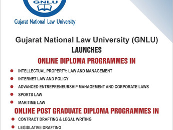 GNLU's Online Diploma & PG Diploma Courses [Limited Seats Remaining]: Apply by January 15