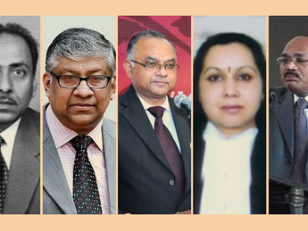 Collegium recommends new Chief Justices for five High Courts