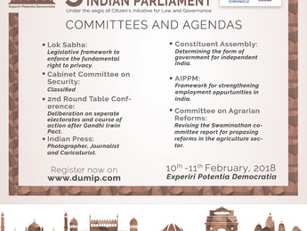 5th DU Mock Indian Parliament [Feb 10-11, New Delhi]: Register by Jan 25