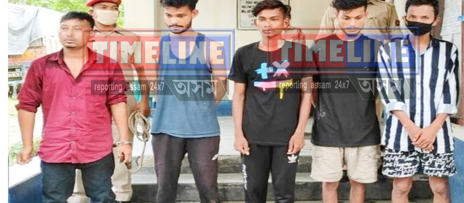 Gohpur Minor Girls Rappist Arrested