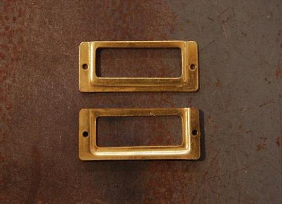 真鍮の品名差し 規格35mm