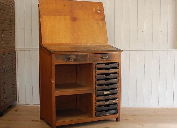 活版印刷の作業台