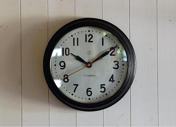 掛時計 マツダ電気時計(大)