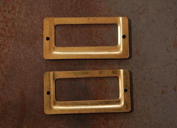 真鍮の品名差し 規格40mm