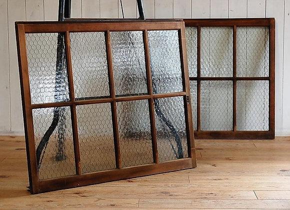 網入りガラスの建具(引き違い窓)