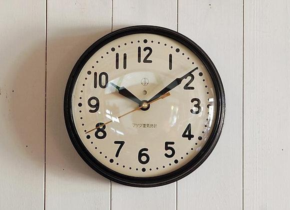 掛時計 マツダ電気時計(小)