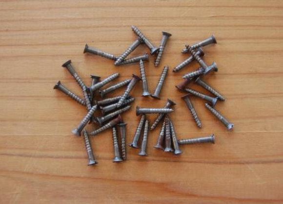 鉄のマイナス木ねじ 規格16mm