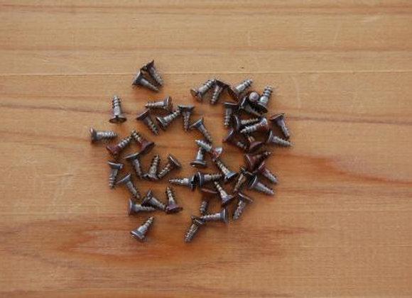鉄のマイナス木ねじ 規格6.3mm