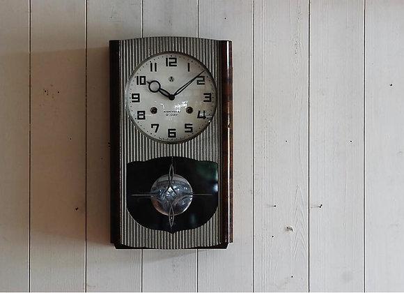 愛知時計 21日巻ゼンマイ式掛け時計