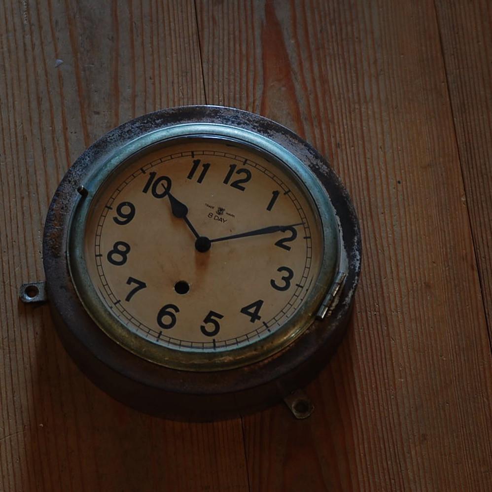ジャンクな雰囲気が漂う昭和初期の船時計
