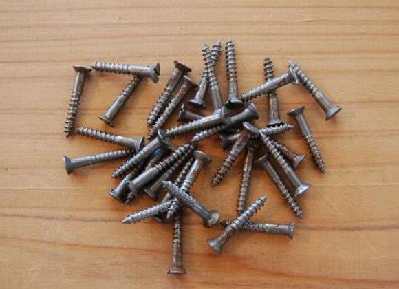 鉄のマイナス木ねじ 規格22mm