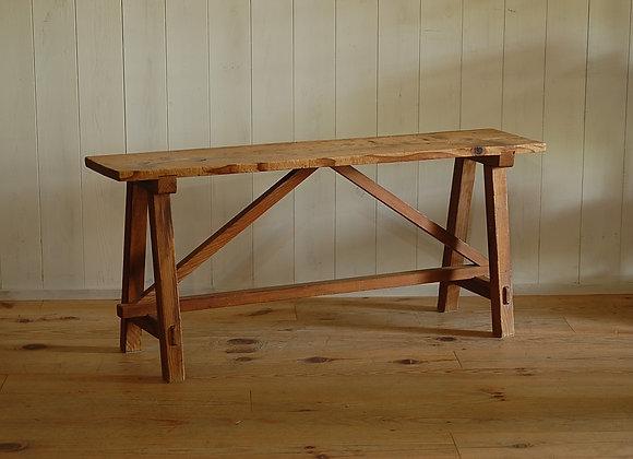 木製の長椅子 ベンチ