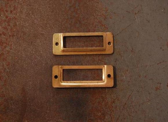 真鍮の品名差し 規格30mm