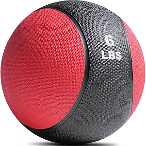 Titan Fitness 4-20 lb Weighted Medicine Ball...