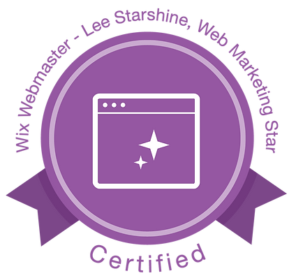 Certified WIX Webmaster - Lee Starshine