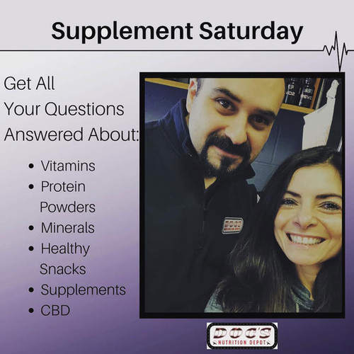 Supplement Saturday poster