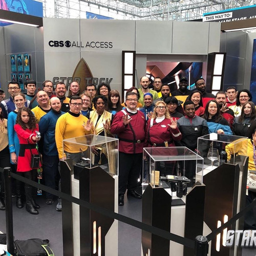 New York Comic Con 2019 CBS All Access Star Trek Costume Photo