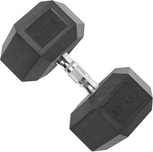Cap Coated Hex Dumbbell Weights