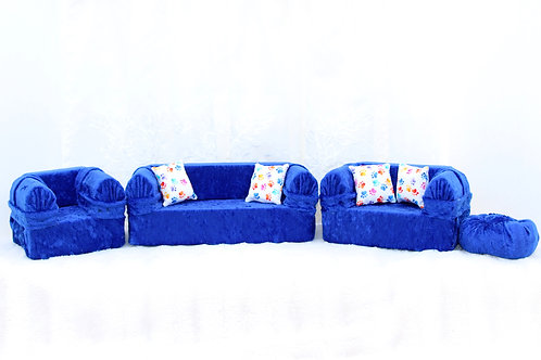 Classic Sofa- Royal Blue