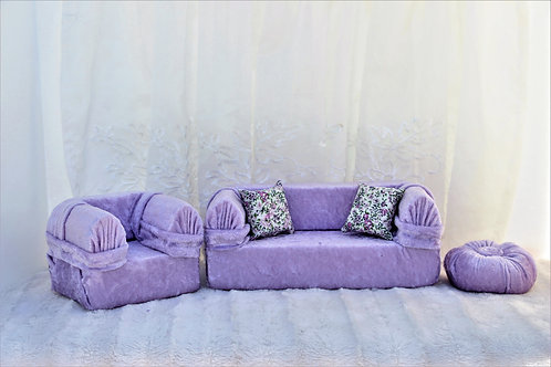 Standard Sofa- Purple Crush