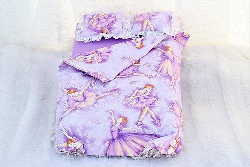 Bed- Purple Ballerinas