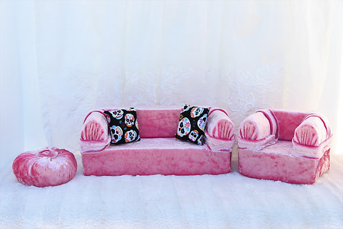 Standard Sofa- Pink Crush