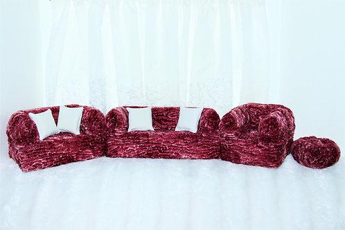Classic Sofa- Berry Cream Ripple