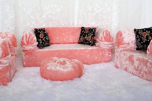 Classic Sofa - Peach Ice