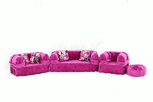 Classic Sofa- Very Berry