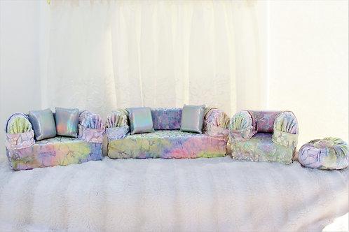 Deluxe Sofa- Unicorn Shimmer