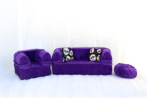 Standard Sofa- Regal Purple
