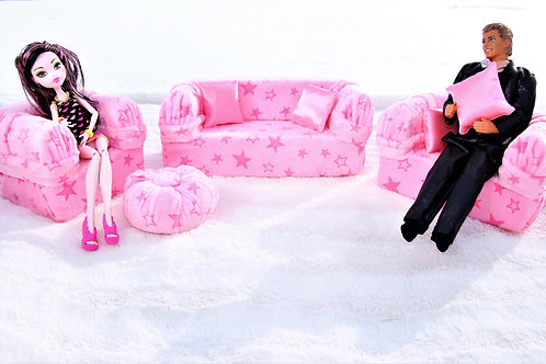 Deluxe Sofa --So Soft Stars