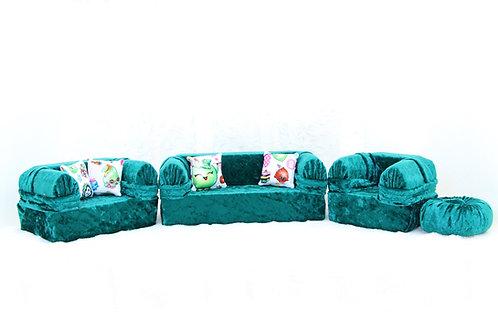 Classic Sofa- Green Shopkins