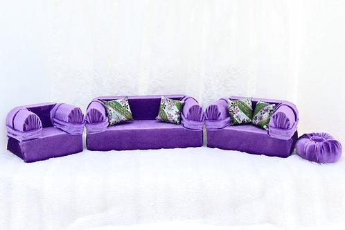 Classic Sofa- Vibrant Purple