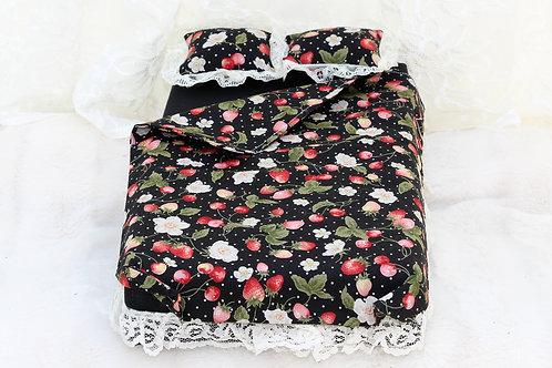 Bed- Black Strawberries