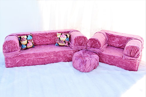Sofa for 18 inch Doll- Pink Crush
