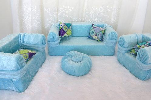 Classic Sofa - Soft Teal
