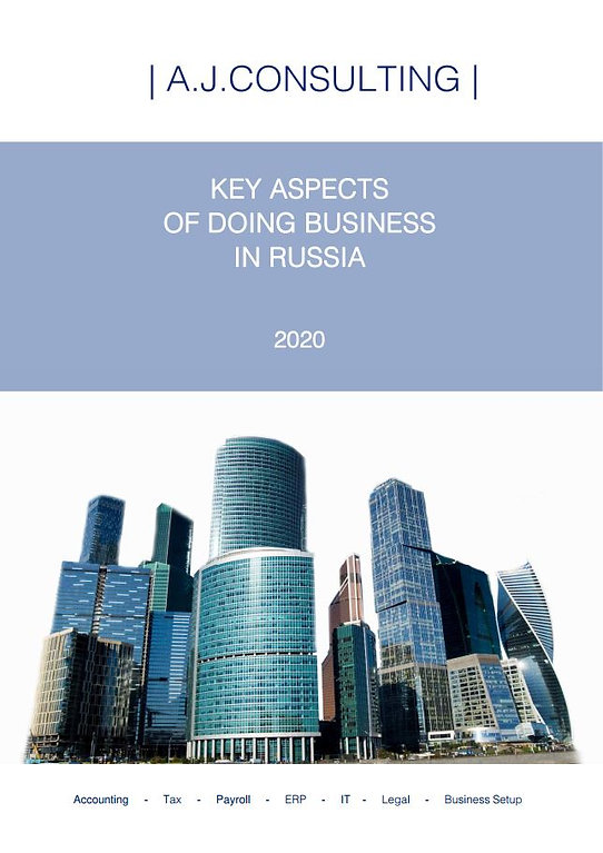 Key Aspects Of Doing Business In Russia A.J.CONSULTING