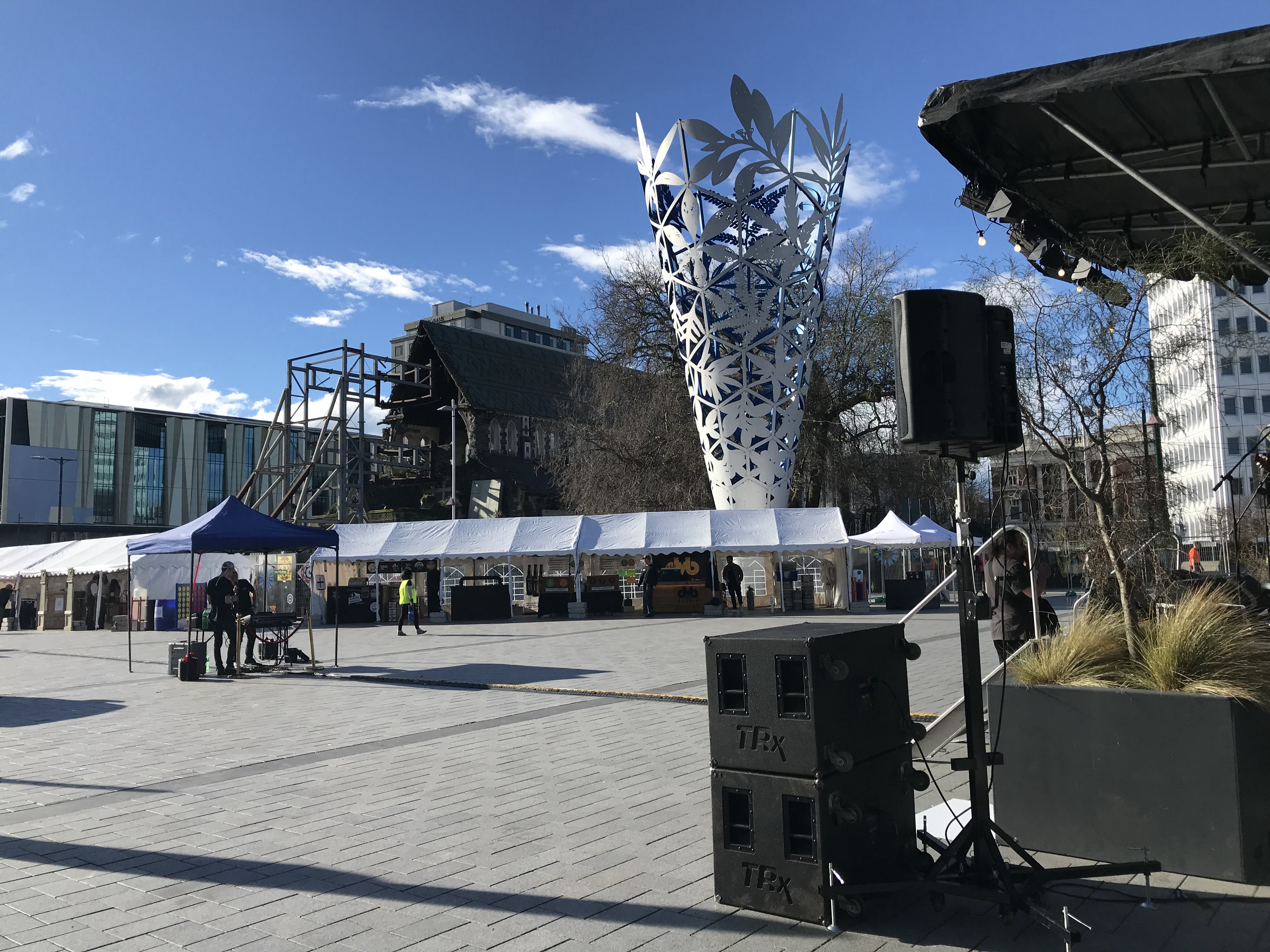 Outdoor Event Lighting & Sound