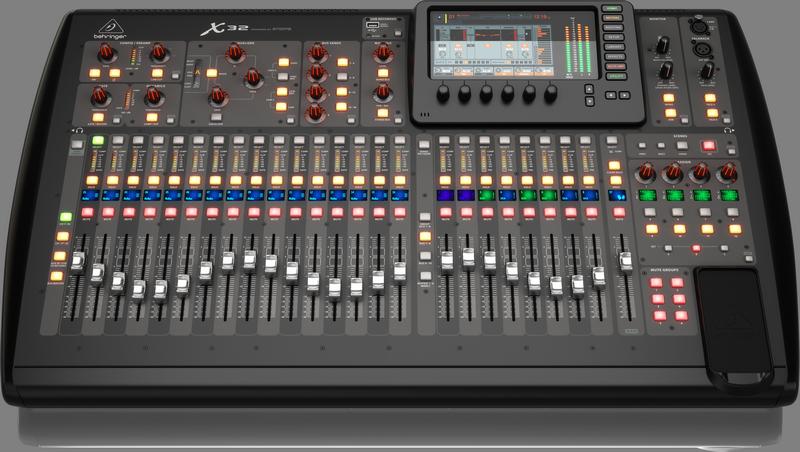 X32 FrontLow Mixer Hire