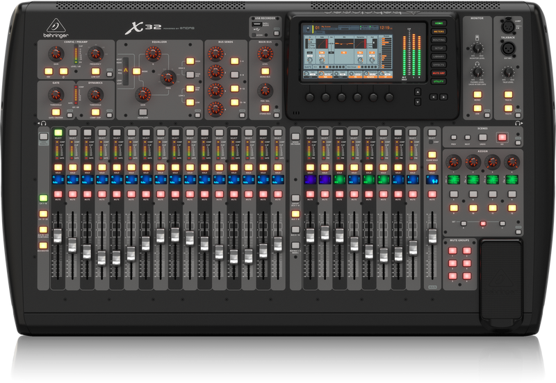 X32 Overview Mixer Hire