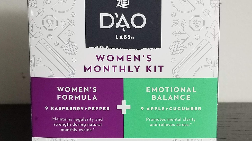 Dao Womens Monthly Kit