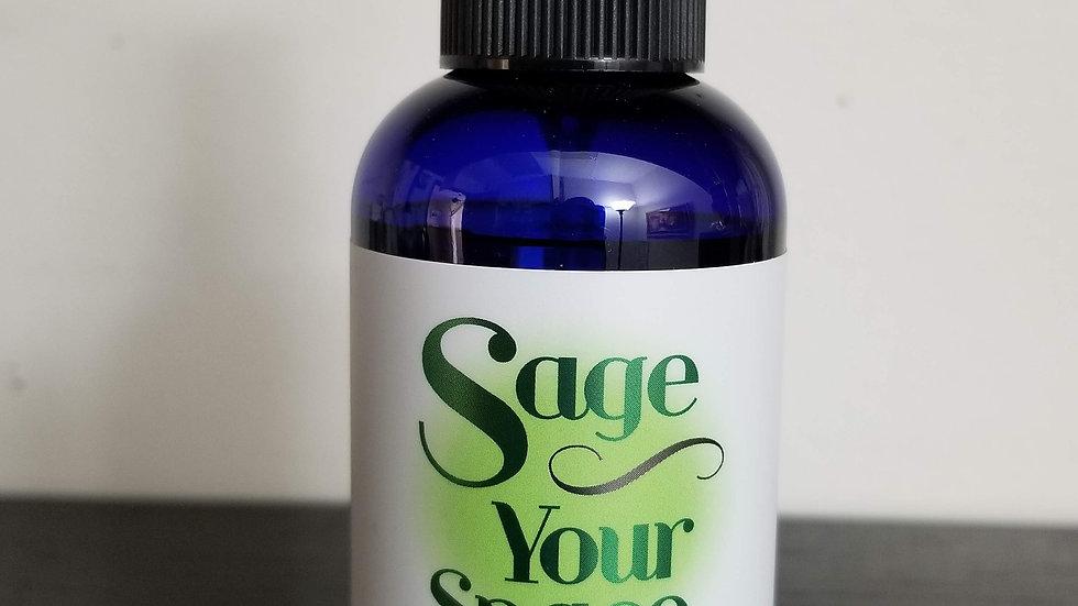 Sage Your Space Spray - Bergamot